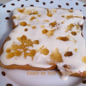 Quick and easy bread dessert