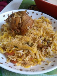 Biryani from Tandoori